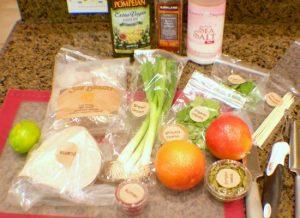 Sunbasket ingrediants