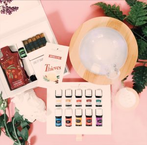 Essential oil starter guide challenge! Young Living essential oil starter kit.