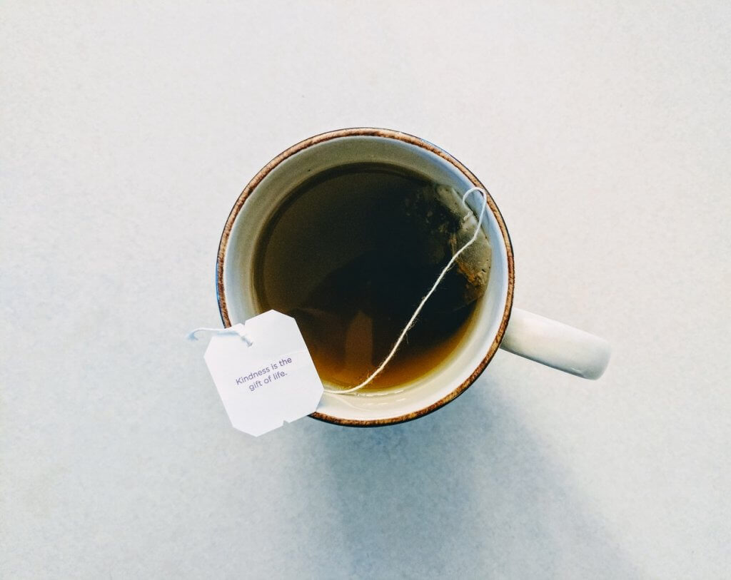 Green tea:  high in antioxidants!