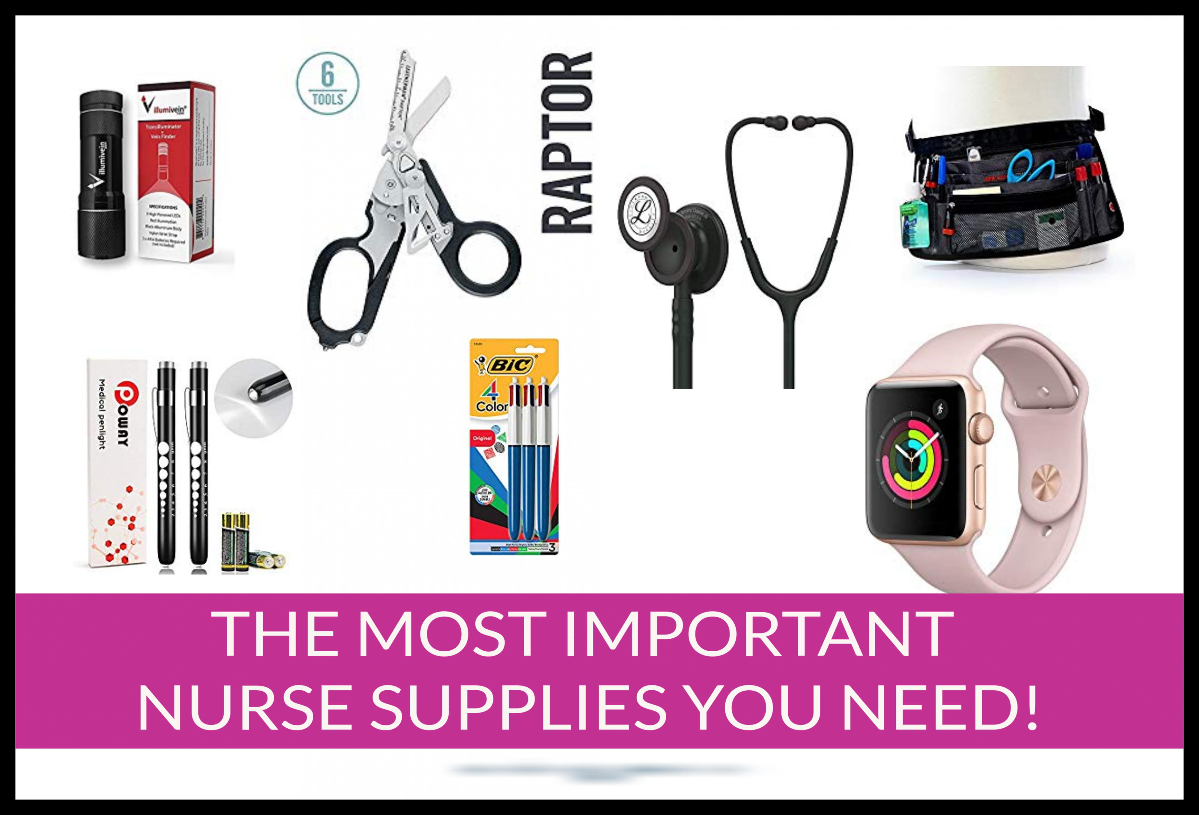 The most important nurse supplies you need as a nurse