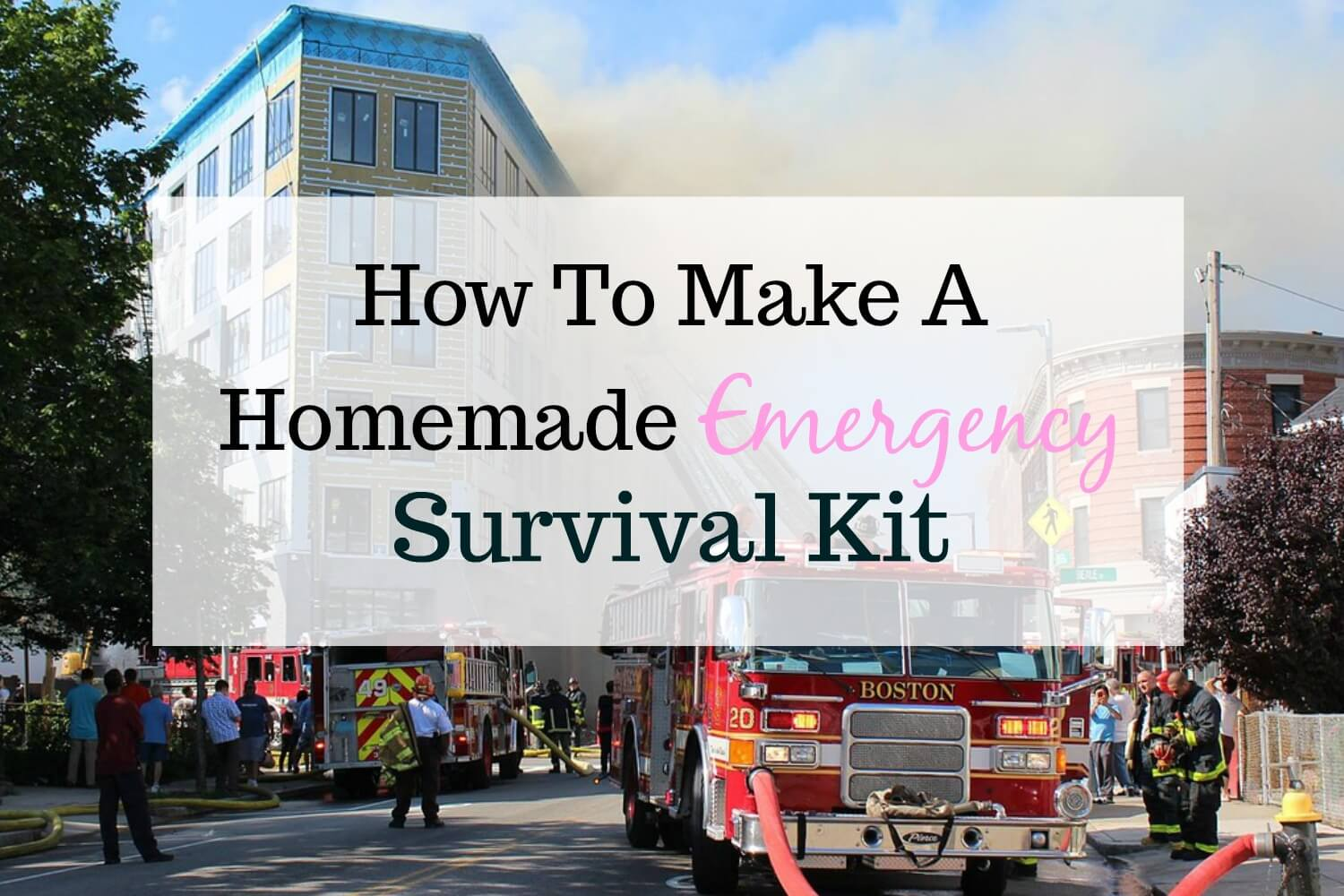 How To Make A Homemade Emergency Survival Kit