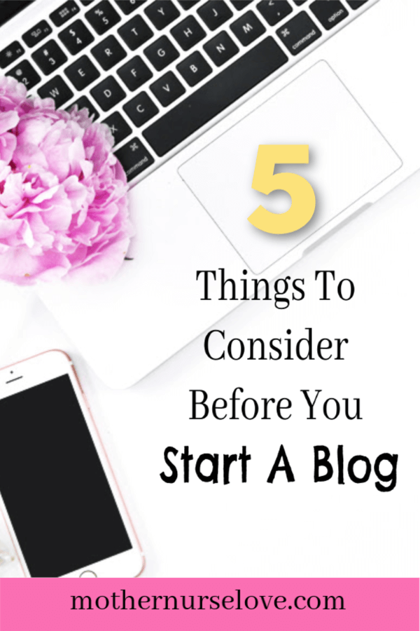 What To Consider Before You Start A Blog