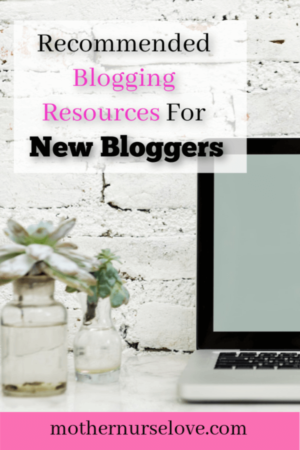 Recommended blogging resources for new bloggers