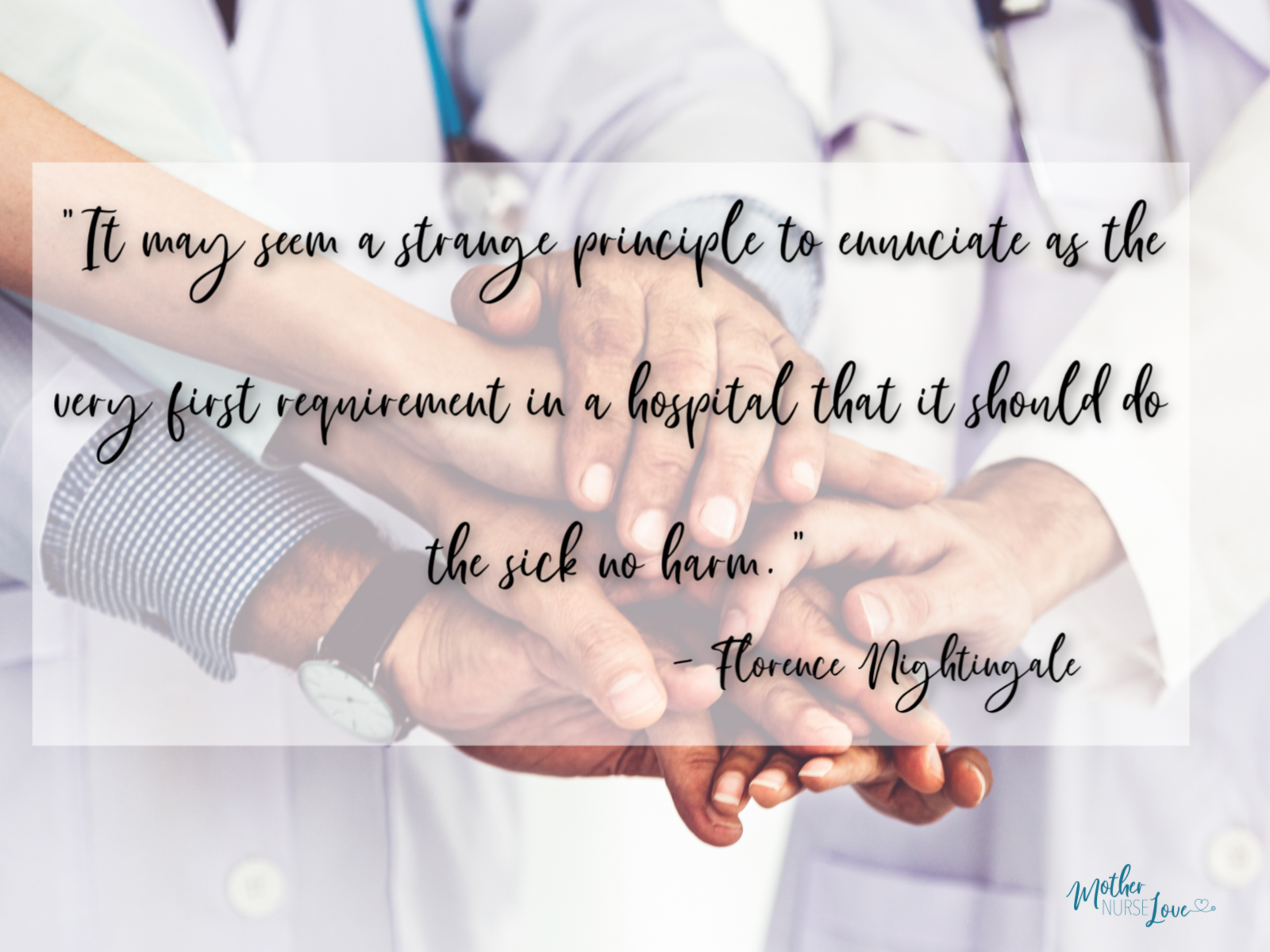 Famous nurse quotes - Florence Nightingale