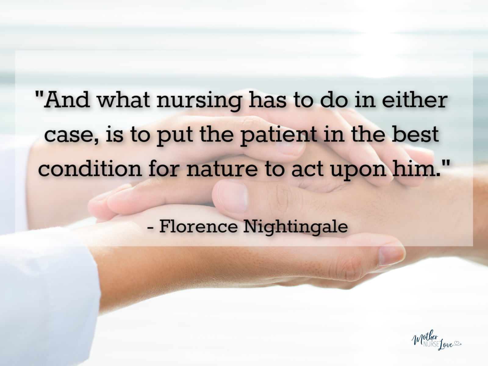 Famous Nurse Quotes- Florence Nightingale