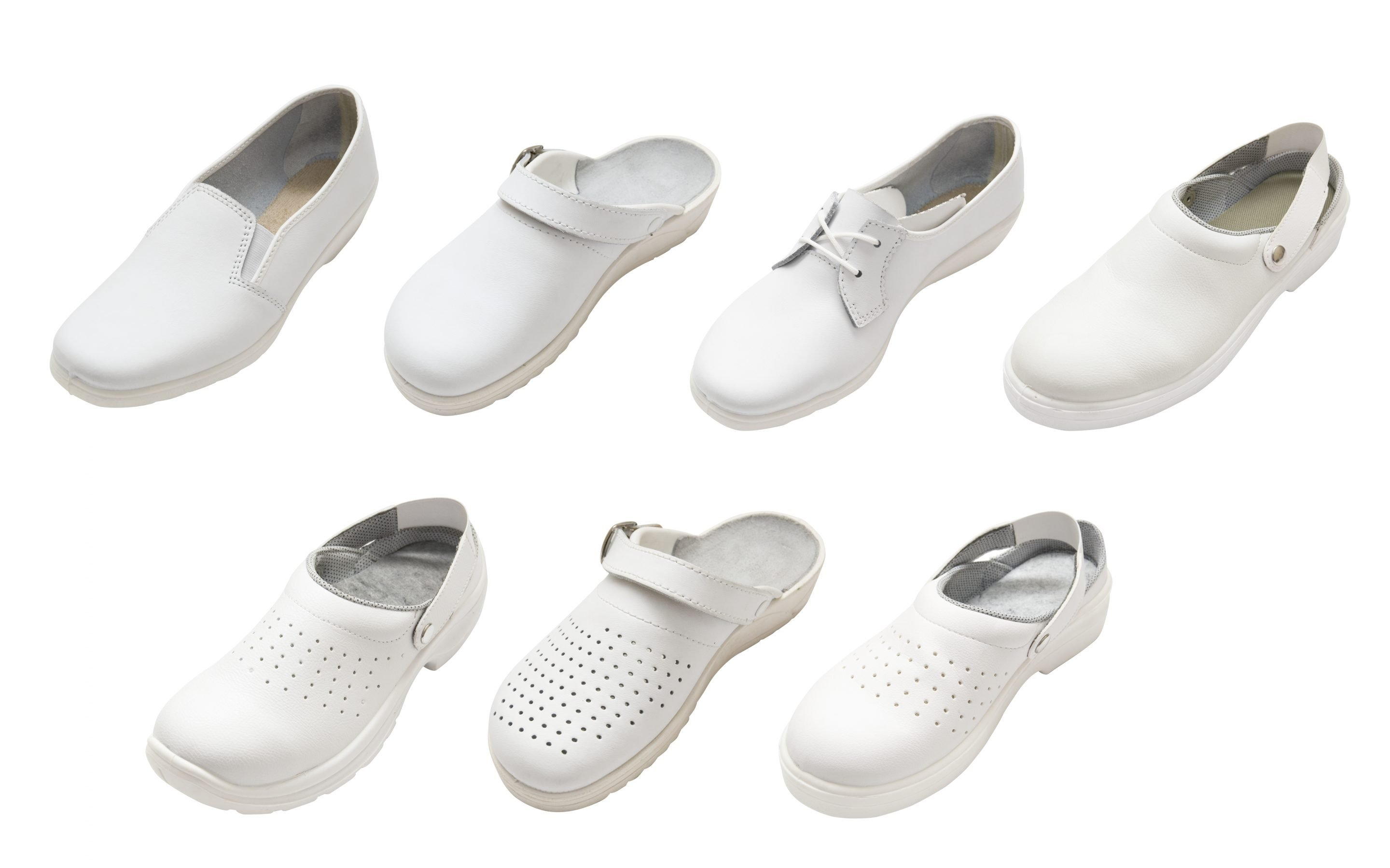 Ladies/'Comfortable and Leisure Air Cushion Work Shoes Female Nurses/' Shoes White